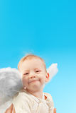 Happy angel Royalty Free Stock Photography