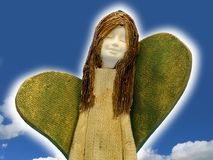 Happy angel Stock Photo