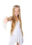 Happy angel Stock Images