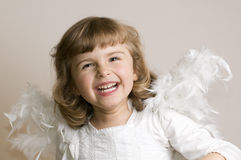 Happy Angel Stock Photos