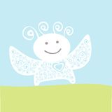 Happy angel Royalty Free Stock Images