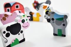 Happy animal farm Stock Photo