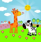 Happy animals stock photos