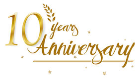 Happy Anniversary celebration design. Illustration of Happy Anniversary celebration design Stock Images