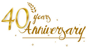 Happy Anniversary celebration design. Illustration of Happy Anniversary celebration design Stock Photography