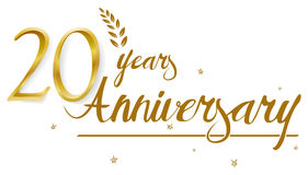 Happy Anniversary celebration design. Illustration of Happy Anniversary celebration design Royalty Free Stock Photo