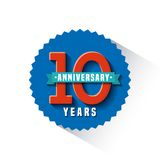 Happy anniversary design Royalty Free Stock Photos