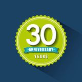 Happy anniversary design. Illustration eps10 graphic Royalty Free Stock Images