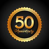 Happy anniversary design Royalty Free Stock Images