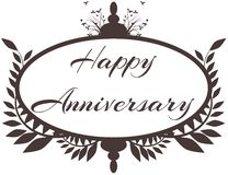 Happy anniversary Royalty Free Stock Photo