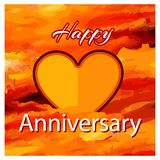 Happy Anniversary stock vector, , Vector illustration. EPS file available. see more images related stock illustration