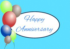 Happy anniversay royalty free stock images