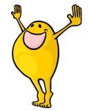 Happy applause. Creative design of happy applause stock illustration