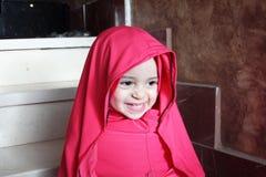 Happy arab egyptian muslim baby girl Stock Photos