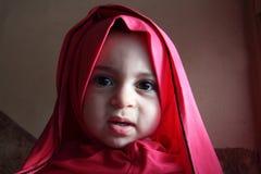 Happy arab egyptian muslim baby girl Royalty Free Stock Photo