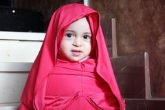 Happy arab egyptian muslim baby girl Stock Images