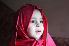 Happy arab egyptian muslim baby girl Stock Photo