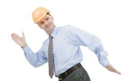 Happy architect Stock Image