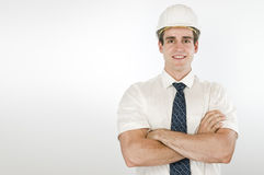 Happy architect Stock Photography