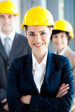 Happy architects. Group of happy architects portrait Royalty Free Stock Image