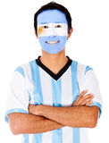 Happy Argentinean man Royalty Free Stock Photo
