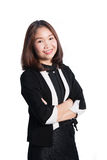 Happy asia business woman Stock Image
