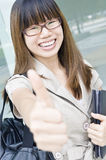 Happy asian business women Stock Image