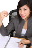Happy Asian businesswoman Royalty Free Stock Photo