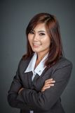 Happy Asian businesswoman Stock Photos