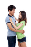 Happy Asian couple Stock Photo