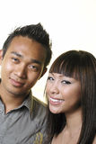 Happy asian couple Stock Photography