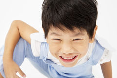 Happy asian cute boy with smile face Stock Images