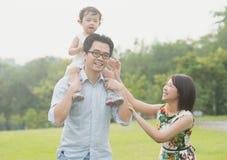 Happy Asian Family Royalty Free Stock Image
