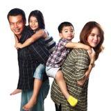 Happy asian family Royalty Free Stock Photography