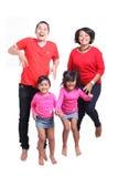 Happy asian family royalty free stock photo