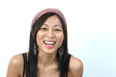 HAPPY ASIAN GIRL 1 Stock Photo