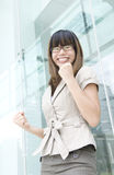 Happy asian girl Royalty Free Stock Photo