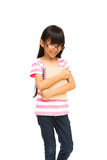 Happy asian girl Royalty Free Stock Images