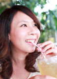 Happy Asian Girl Stock Photos