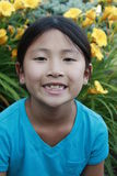 Happy Asian girl Stock Photos