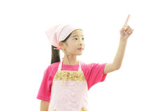 Happy Asian girl smile stock images