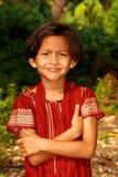 Happy Asian girl smiling Stock Photo