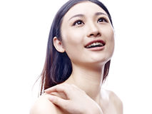 Happy asian girl Stock Photo