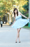 Happy asian girls Royalty Free Stock Images