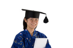Happy Asian graduate Stock Photography