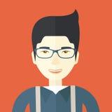 Happy asian guy Stock Photos