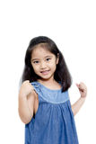 Happy Asian Kid Stock Photo