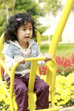 Happy Asian little girl stock photography