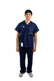 Happy Asian Male nurse or doctor Stock Photography