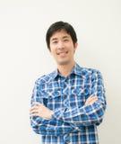 Happy asian man Stock Image